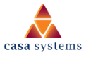 Logo of Casa Systems, One of Sekom's Digital Winners Reference